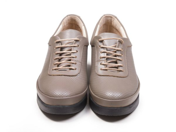 کفش زنانه تبریز مدل دیلا رنگ ویزون