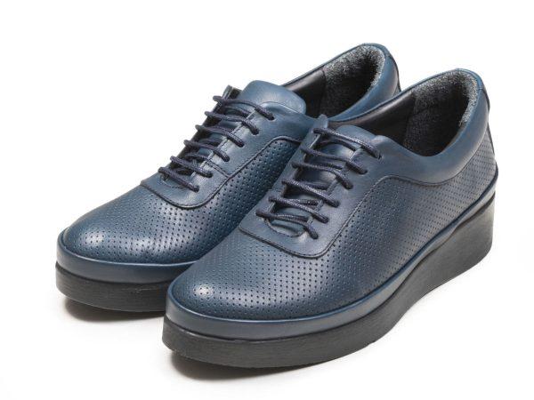 کفش زنانه مدل دیلا لژدار آبی
