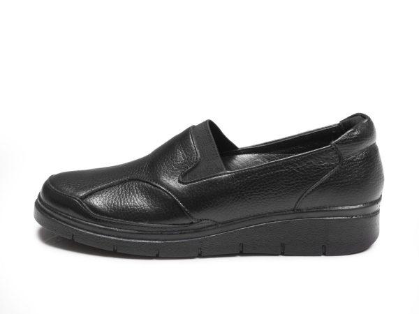کفش طبی زنانه مدل سلدا رنگ مشکی