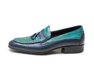 کفش چرم مردانه مدل هیرو پلاس