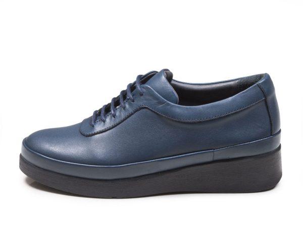 کفش لژدار زنانه مدل مولینا رنگ آبی