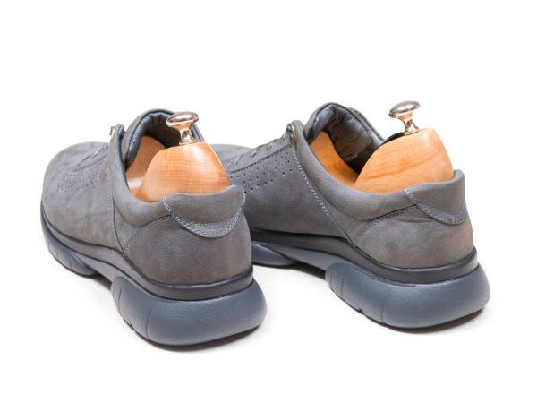 کفش چرم اسنیکرز برای پیاده روی مدل لسکون