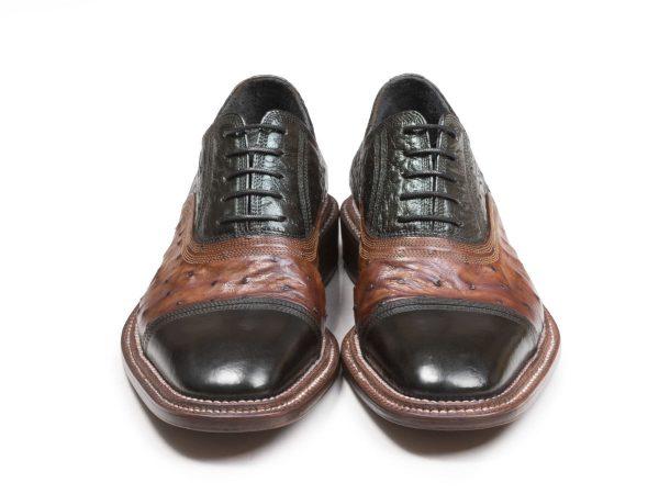 کفش چرم دستدوز تبریز مدل شایان آکسفورد