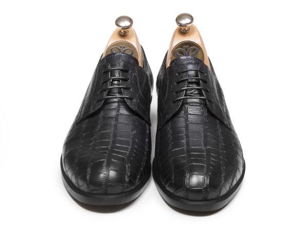 کفش چرم دستدوز مردانه مدل دسلو