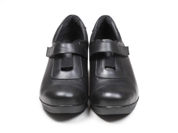 کفش چرم طبی زنانه مدل لنا