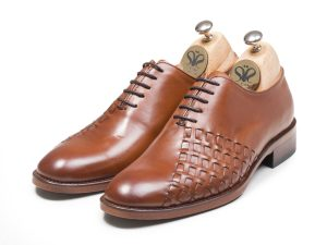 کفش مجلسی چرم مردانه مدل دیبالا