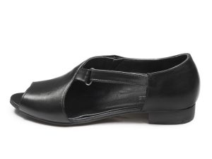 کفش زنانه تخت جلوباز مدل بیندا