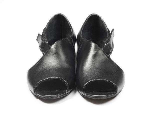 کفش تخت زنانه مدل بیندا مشکی