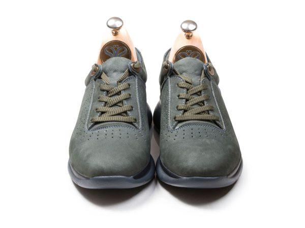 کفش پیاده روی مدل لسکون رنگ سبز فیلی