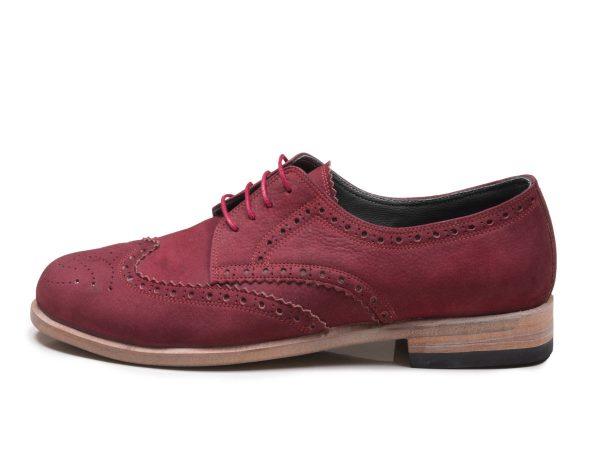 کفش زنانه دستدوز چرمی فورلا