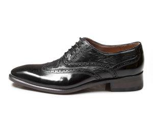 کفش مجلسی چرم مردانه مدل ارس
