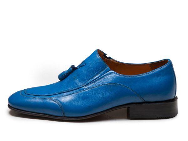 کفش کالج مردانه مدل اورتون آبی