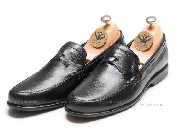 مدل کفش کالج مردانه جگوار رنگ مشکی