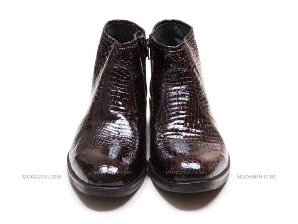 کفش چرم زیپدار