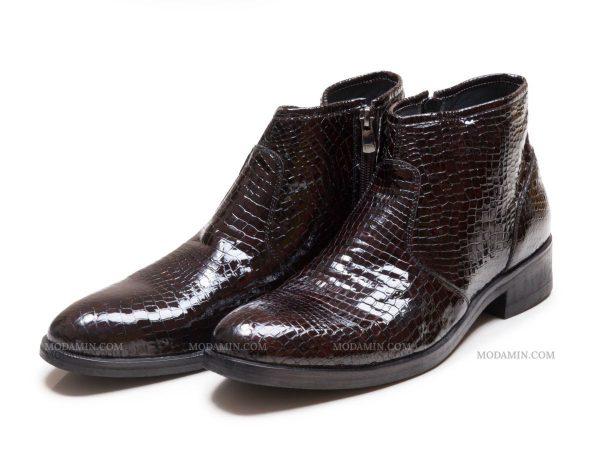 کفش دستدور مردانه به رنگ قهوه ای