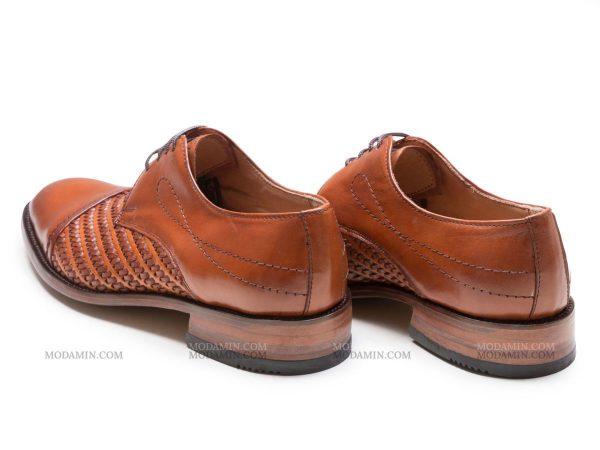 پاشنه چرم کفش مردانه